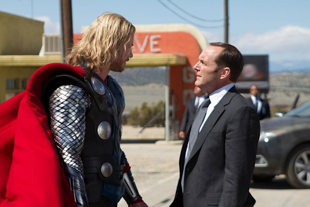 Thor Paramount Pictures 2011 Chris Hemsworth Clark Gregg