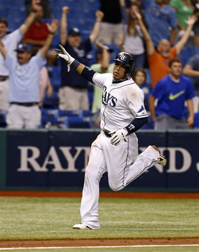 Zobrist lifts Rays over Twins in 13th inning