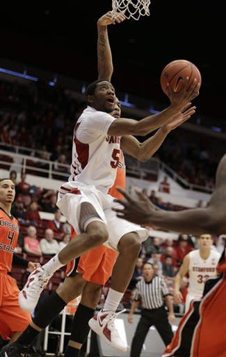 Huestis leads Stanford past Oregon State, 81-73