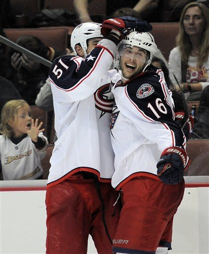 Blue Jackets snap skid, beat Ducks in OT