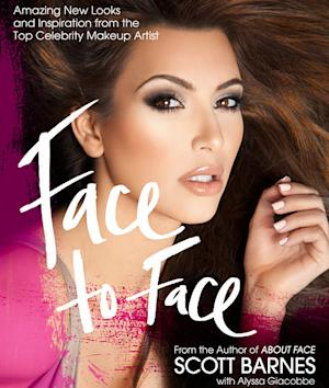 Kim Kardashian Lands Cover of Scott Barnes' New Beauty Book, Face to Face