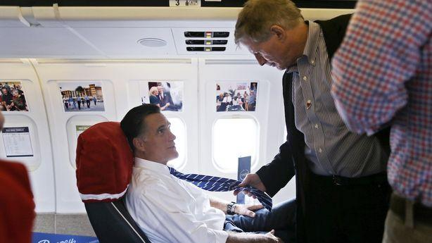 Romney Records Videos of His Staffers While They Sleep