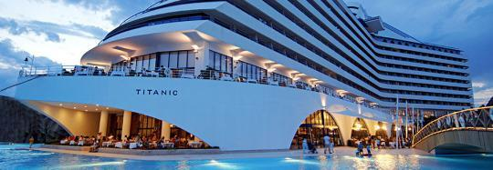 Is This Hotel a Sinking Ship? Turkish Resort Channels the Titanic