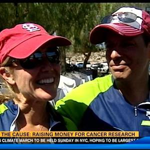Pedal the Cause: raising money for cancer research