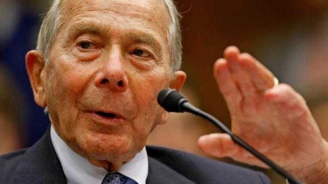 """Former AIG CEO Maurice Greenberg sure has a funny way of saying """"thanks."""""""