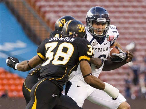 No. 22 Southern Miss tops Nevada in Hawaii Bowl
