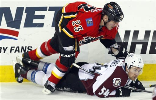 Semyon Varlamov leads Avalanche past Flames