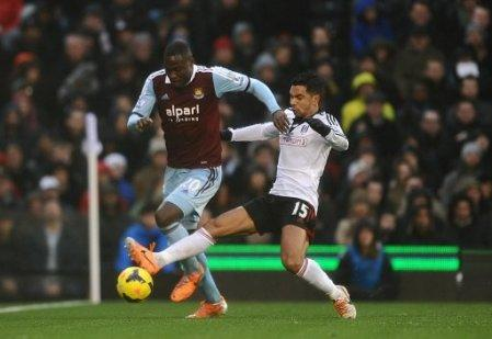 Soccer - Barclays Premier League - Fulham v West Ham United - Craven Cottage