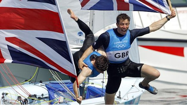 Sailing - Patience and Glanfield charting right course at World Cup