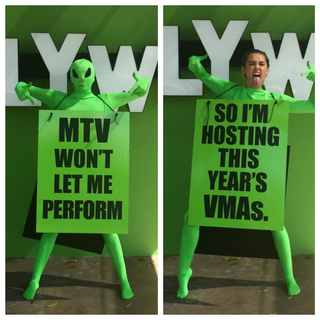 VMAs: What Could Go Wrong? A History of Miley Cyrus Going Off Script on Live TV