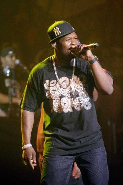 AUSTIN, TX - MARCH 16: Rapper 50 Cent performs during Shady Records Showcase during the 2012 SXSW Music, Film   Interactive Festival at Austin Music Hall on March 16, 2012 in Austin, Texas. (Photo by Bobby Longoria/WireImage)