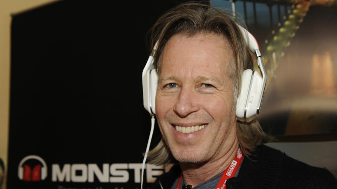 Producer Stephen Nemeth wears Inspiration headphones by Monster Products at the Fender Music lodge during the Sundance Film Festival on Monday, Jan. 21, 2013, in Park City, Utah. (Photo by Jack Dempsey/Invision for Fender/AP Images)