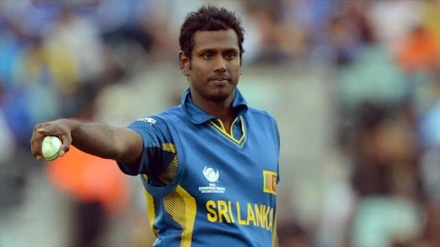 Angelo Mathews is determined to guide Sri Lanka into the Champions Trophy final