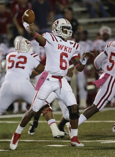 Jakes' 3 TD passes lifts WKU over Troy, 31-26