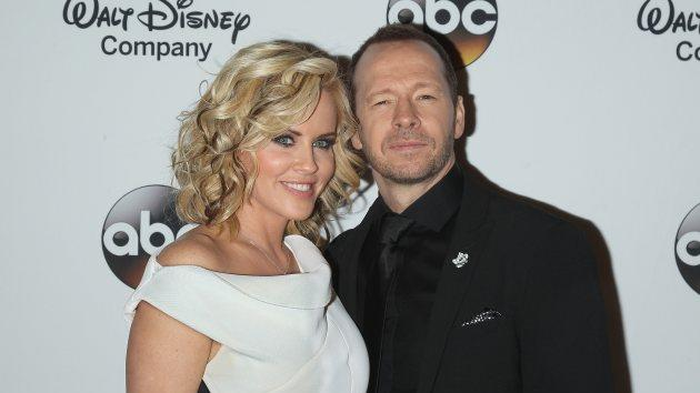 Jenny McCarthy and Donnie Wahlberg on May 14, 2014 -- Getty Images