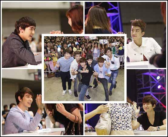 2PM Draws Almost 100,000 Fans for Japan High-Five Event