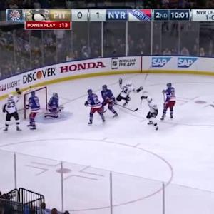 Penguins at Rangers / Game Highlights