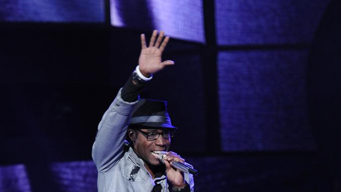 "Aaron Marcellus performs ""Never Can Say Goodbye"" by The Jackson 5 on ""American Idol."""