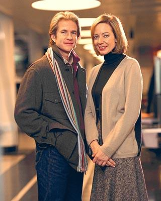 "Matthew Modine and Allison Janney on NBC's ""The West Wing"" West Wing"
