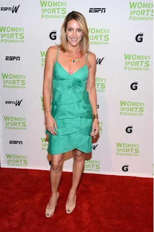 Summer Sanders attends the 33rd Annual Salute To Women In Sports Gala at Cipriani Wall Street on October 17, 2012 in New York City -- Getty Images
