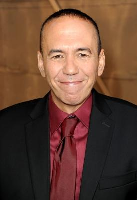 Gilbert Gottfried arrives at the Comedy Central Roast of David Hasselhoff held at Sony Pictures Studios in Culver City, Calif., on August 1, 2010 -- Getty Images