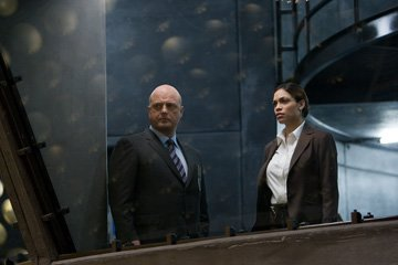 Michael Chiklis and Rosario Dawson in DreamWorks Pictures' Eagle Eye