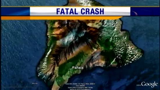 Pahala fatal crash