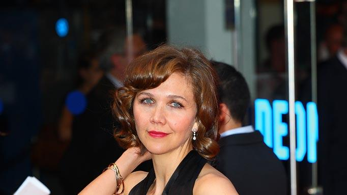 The Dark Knight UK Premiere 2008 Maggie Gyllenhaal