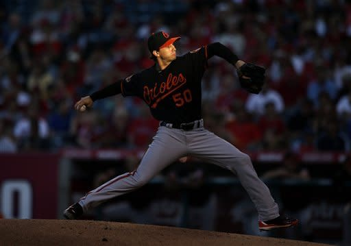 Pearce, Gonzalez lead Orioles past Angels