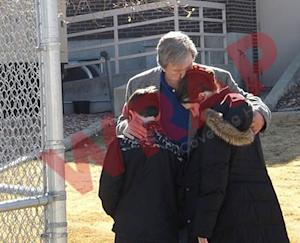 'Die Hard' Director John McTiernan Hugs Children Before Entering Prison (Exclusive)