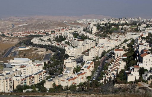 The Jewish settlement of Pisgat Zeev in East Jerusalem, on August 11, 2011. The Israeli defence ministry says it has given the green light for the construction of 346 new settler homes in two settlements in the southern West Bank