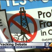 Protesters Rally Outside Final Oil & Gas Task Force Meeting
