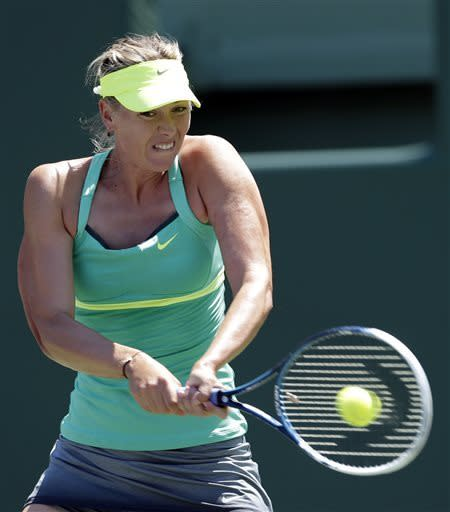 Serena Williams vs Sharapova in Sony Open final