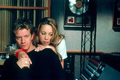 Max Beesley and Mariah Carey in 20th Century Fox's Glitter