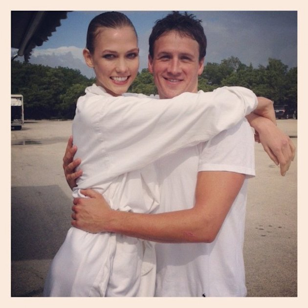 Karlie Kloss and Ryan Lochte BFF&#x002019;s forever