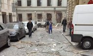 Prague Explosion Leaves Dozens Injured