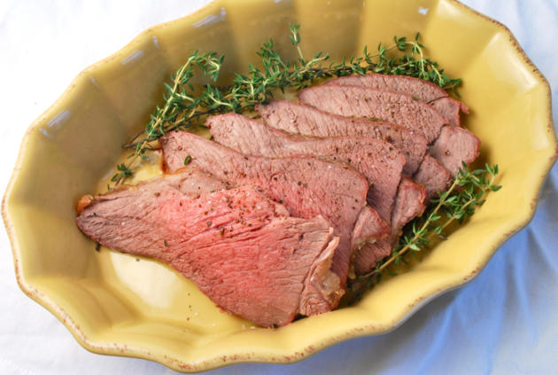 Easy Leg of Lamb Roast