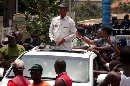 Opposition supporters clash with security forces in Guinea