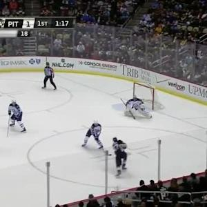 Ondrej Pavelec Save on Simon Despres (18:50/1st)
