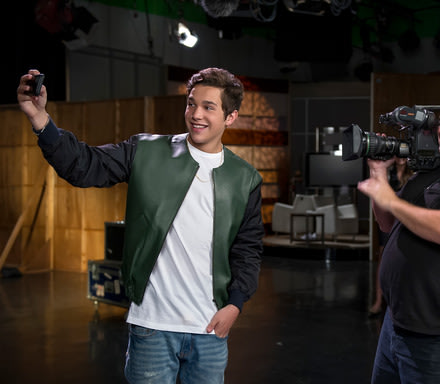 Austin Mahone teams up with The Allstate Foundation's #GetThereSafe program to encourage smart teen driving during Global Youth Traffic Safety Month in May and throughout the summer, the deadliest season for teens on the road.