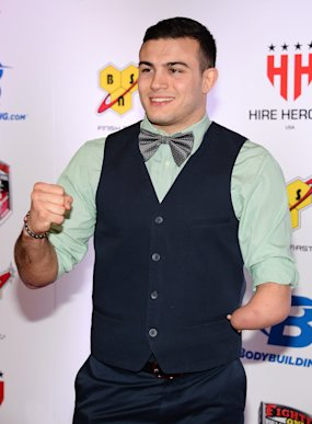 Nick Newell is a one-time college All-American wrestler who has become an exceptionally entertaining offensive fighter. (Getty Images)