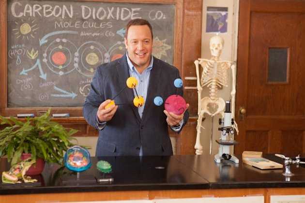 "This film image released by Columbia Picturers shows Kevin James in a scene from ""Here Comes the Boom."" (AP Photo/Columbia-Sony Pictures, Tracy Bennett)"