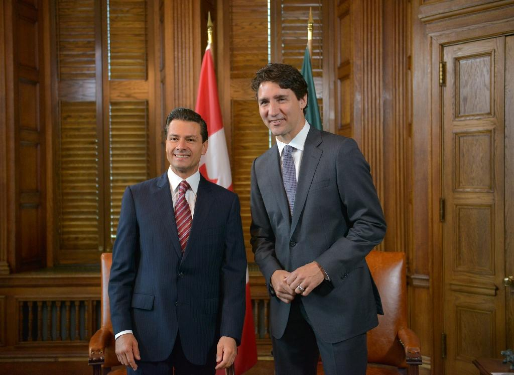 Canada, Mexico leaders showcase ties after Brexit
