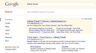 5 Quick Ways to Increase Paid Search CTR Without Breaking a Sweat image Google Ad Sitelinks Example