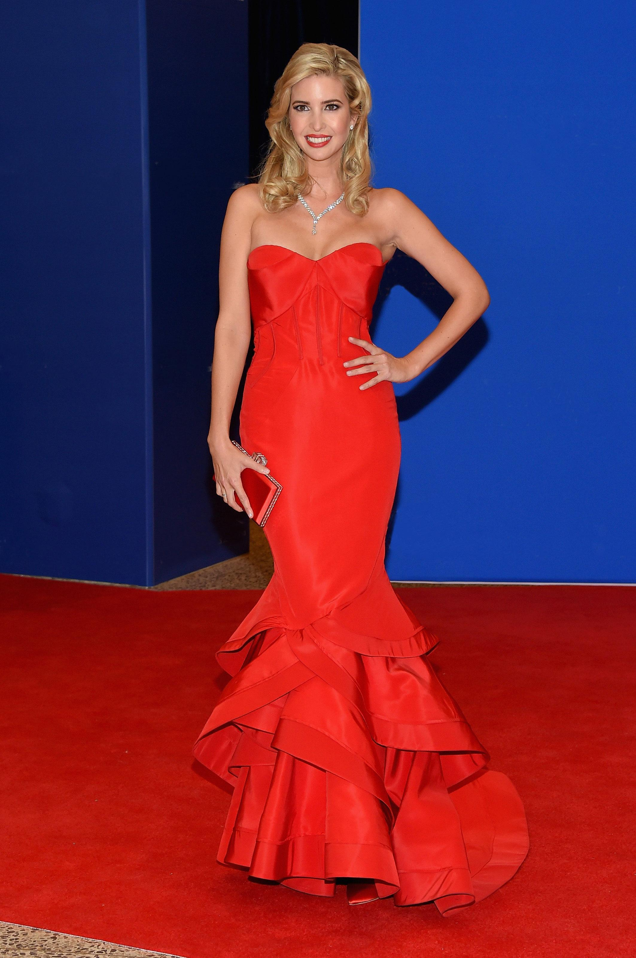 Red Hot Dresses Rule the Carpet at the White House Correspondents Dinner