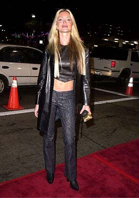 Caprice Bourret at the Mann's National Theater premiere of Columbia's The 6th Day