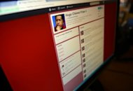 A computer screen shows the Twitter page of Venezuelan President Hugo Chavez. Chavez now has more than three million followers on Twitter, making him the most popular Latin American politician on the site