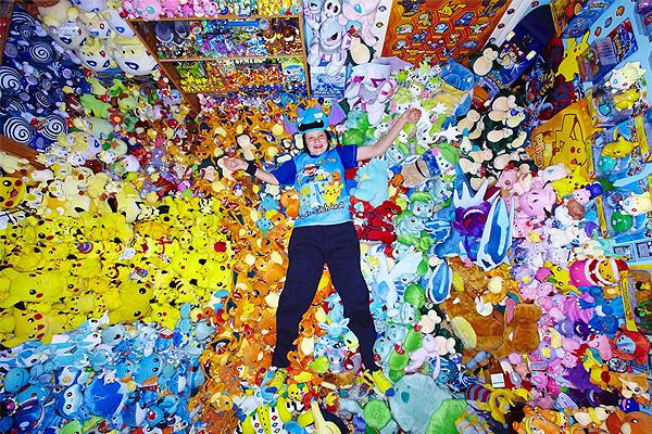 Largest collection of Pokemon memorabilia
