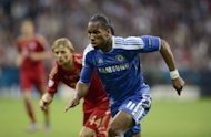 Chelsea forward Didier Drogba during the UEFA Champions League football final against Bayern Munich on May 19. Drogba stepped up to rifle home the decisive penalty as Chelsea clinched a 4-3 shoot-out victory