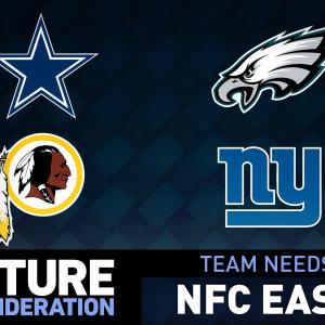 2015 NFL Draft: NFC East team needs